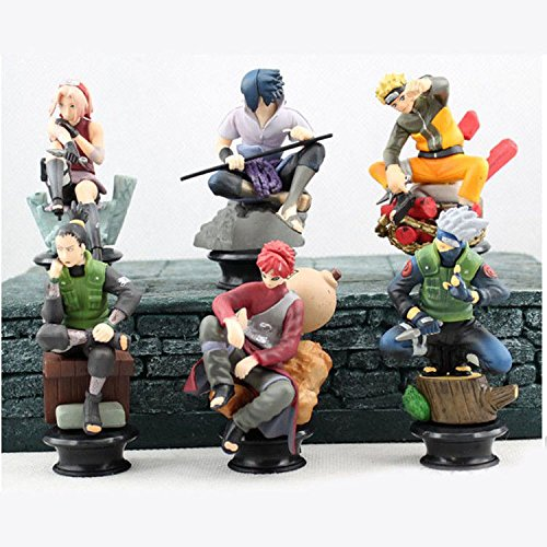 New 6pcs/set Action Figure Doll Anime Toys Collection for Boys Toys Gift