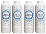 Perlier:''Iris Blu dei Colli Toscani'' Velvety Talcum Powder, Blue Iris Scent - 3.5 Ounce (100g) Bottles (Pack of 4) [ Italian Import ]
