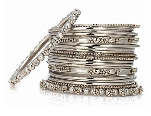 buy jewellery online set india bangles traditional amazon for size oxidized prices at plated dp bracelets bindhani women silver tribal in ethnic low