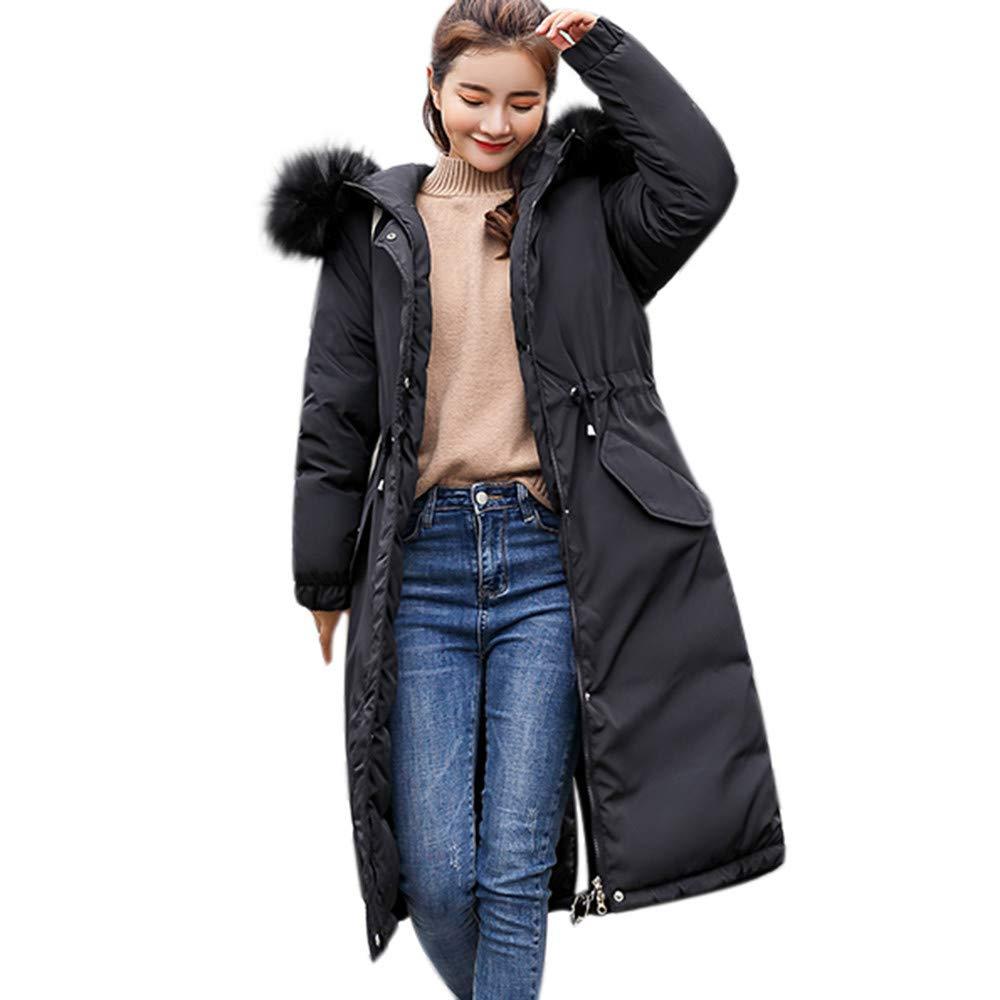 GONKOMA Women's Long Coat Winter Warm Parka Long Puffer Jacket Overcoat