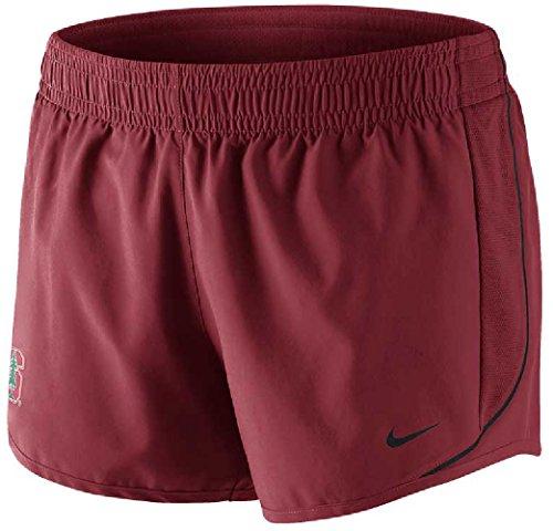 Nike Women's Stanford Cardinal Dri-FIT 10K Running Shorts (XS, Varsity Crimson Red) ()