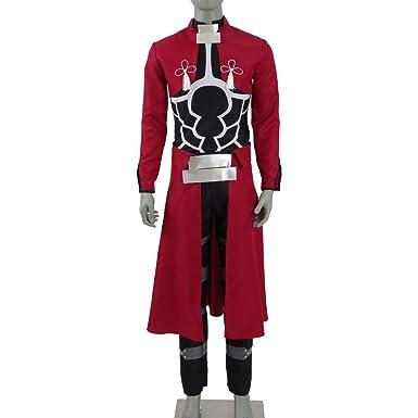 Men s Full Set Uniform Japan Anime Cosplay Costume Halloween Outfit Suit  (US Men-S b93cbcc17