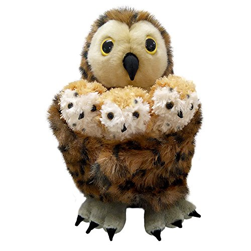 - The Puppet Company Hide-Away Puppets Tawny Owl & 3 Babies
