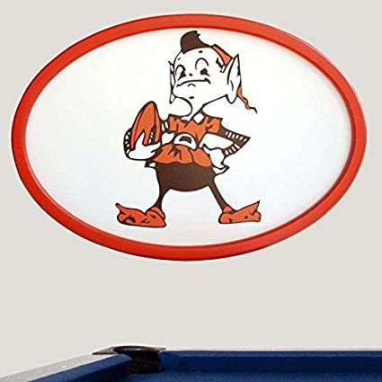 Amazon.com: 31 INCH OVAL WALL ART - CLEVELAND BROWNS: Sports ...