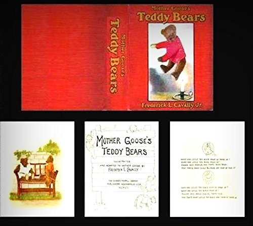Dollhouse Illustrated Book Mother Gooses Teddy Bears 1:12 Doll House Miniatures - My Mini Garden Dollhouse Accessories for Outdoor or House Decor from New Miniature