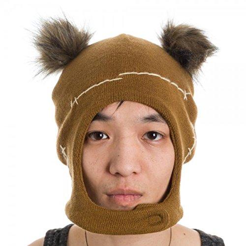 Star Wars Ewok Mascot Hat, Brown, One Size (Ewok Mask)