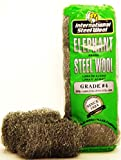 #4 Steel Wool Hand Pads (16 pads/bag), Case of 6