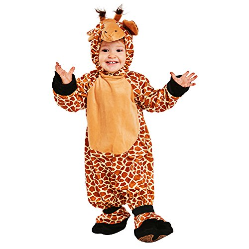 childs toddler giraffe costume size 2 4t