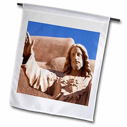 3dRose fl_92747_1 Abiquiu New Mexico United States US32 Jmr1061 Julien Mcroberts Garden Flag, 12 by 18-Inch
