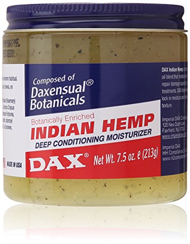 Dax Jamborandi Plus Indian Hemp Deep Conditioning Moisturizer 7.50 oz (Best Hair Grease For African American Hair)