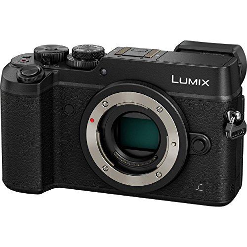PANASONIC LUMIX GX8 Body Mirrorless 4K Camera Body, Dual I.S. 1.0, 20.3 Megapixels, 3 Inch Touch LCD, DMC-GX8KBODY (USA BLACK)