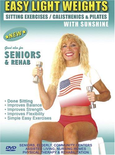 Seniors / Elderly Sitting Lightweight / Dumbbells Exercises for Strength, Rehab & Physical Therapy. This Seniors Light…