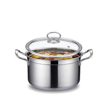 QIN.J.FANG-Menaje De Cocina Olla De Sopa De Acero Inoxidable ...
