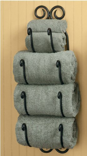 Park Designs Scroll Bath Towel Holder
