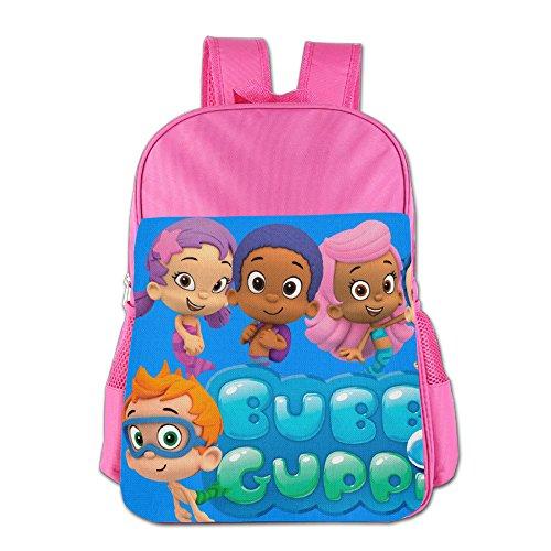 Bubble Guppies School Backpack Bag]()