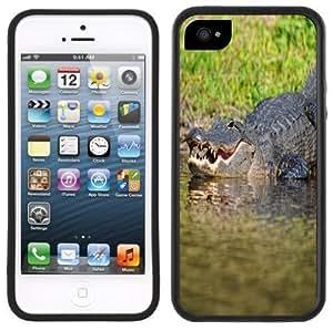 Alligator Handmade iPhone 5 Black Bumper Plastic Case