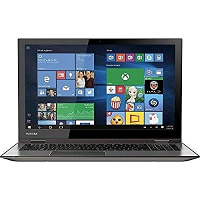 "2016 Newest Toshiba Satellite Radius 2-in-1 15.6"" 4K Ultra HD Touchscreen Flagship Laptop, Intel Core i7-6500U Mobile Processor, 12GB Memory, 1TB Hard Drive, Webcam, WIFI, Bluetooth, Windows 10"