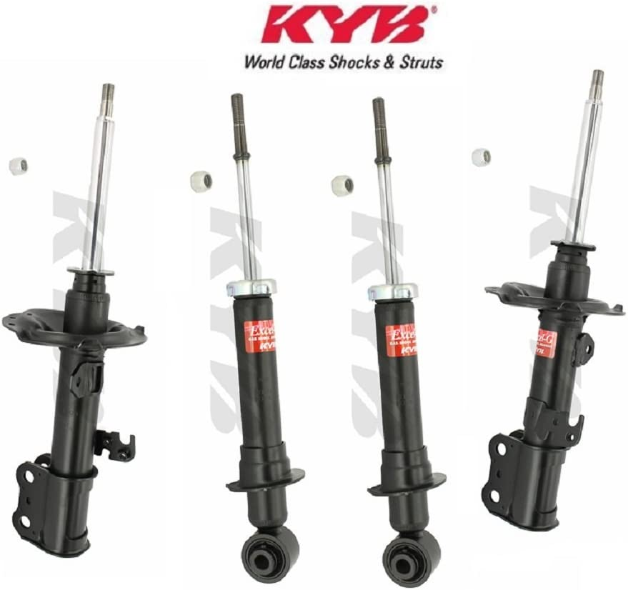 Amazon Com Kyb 334447 334448 341276 Front And Rear Shocks Struts For Subaru Legacy Outback Automotive