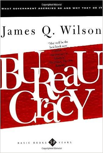 Image result for bureaucracy james q. wilson amazon
