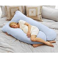 Almohada acogedora para el embarazo de la mamá de hoy, azul cielo