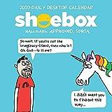 2020 Shoebox Daily Desktop Calendar