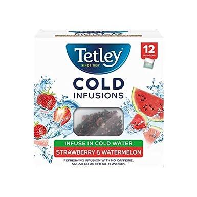 Tetley Cold Infusions Fresa y Sandía 12 Bolsas: Amazon.es ...