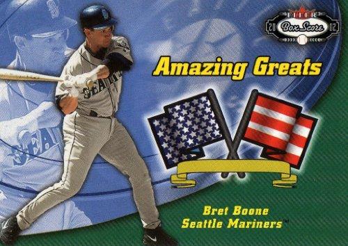 2002 Fleer Box Score Amazing Greats #11 Brett Boone