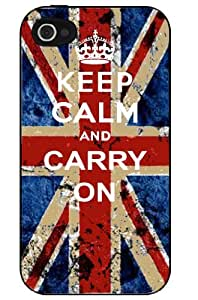 Keep Calm And Carry On Union Jack iphone 5c Case