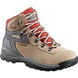 Columbia Women's Newton Ridge Plus Waterproof Amped Hiking Boot, Oxford Tan, Flame, 10 Regular US