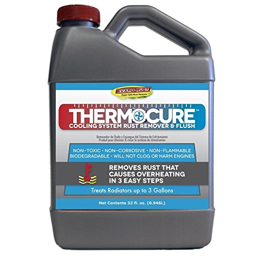 Thermocure Coolant System Rust Remover, Safely Removes the Rust from Cars Cooling System, 32 oz Bottle ()