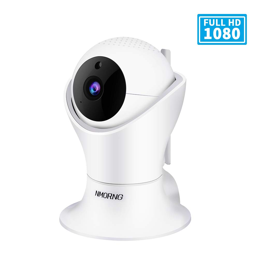 Pet Camera, 1080P Home Security Camera with Night Vision, Two-Way Audio, WIFI IP Camera for Baby Monitor, Auto-Cruise Baby Camera, Remote Control by App Indoor Camera, Cloud Storage by NMORNG (Image #1)