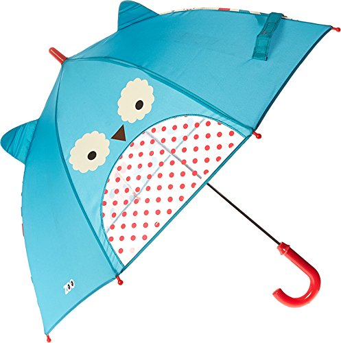 Price comparison product image Skip Hop Zoo Little Kid and Toddler Umbrella, Multi Otis Owl