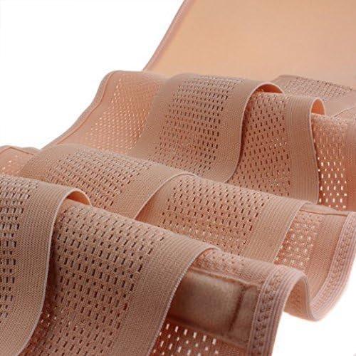 Healthcom Waist Slimming Belt Shaper Wrapper Band Abdomen Abdominal Binder Women Postnatal Pregnancy Belt-Support Postpartum Recoery Support Girdle Belt Belly,Size:S 9