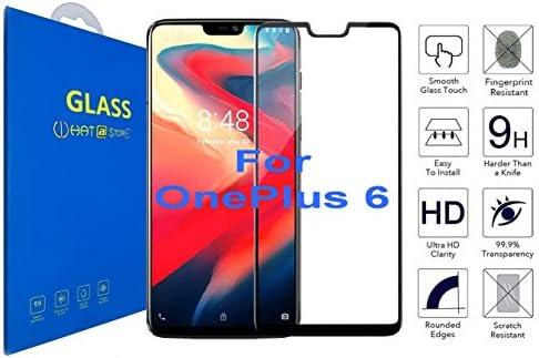 OnePlus 6 - Curvo 3D Cristal Templado Protector de Pantalla ...