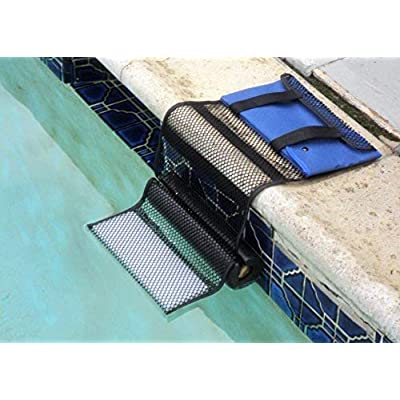 Critter Pool Escape Net-Animal Escape Ramp for Pools- Save Critters in Swimming Pool Device-Frog Pool Escape-Mice Rats Squirrels Possums Turtle Frogs Saver-Easy Setup Low Priced Animal Escape Device : Garden & Outdoor