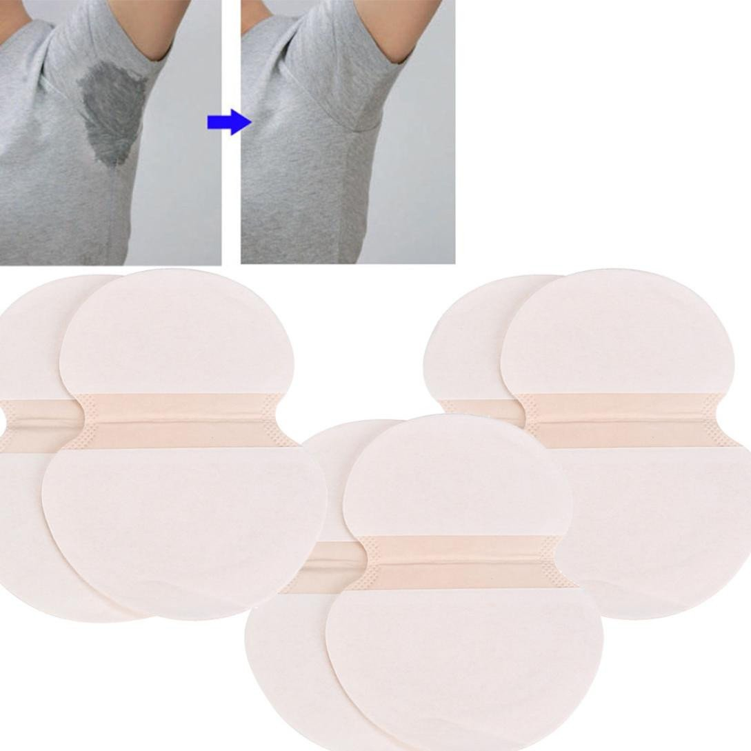Clearance ! Litetao - Adhesive Sweat ! Hot Sale ! New ! Underarm Adhesive Sweat Pad Armpit Goodbye Antiperspirant Deodorant Armpit Pad Comfortable & Discreet & Sweat Free & Odor Free (B - 16 pcs) by Clearance ! Litetao - Adhesive Sweat ! Hot Sale ! New ! (Image #3)