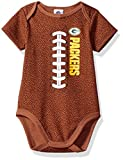 Gerber Childrenswear NFL Green Bay Packers Boys Football Bodysuit, 18 Months, Brown