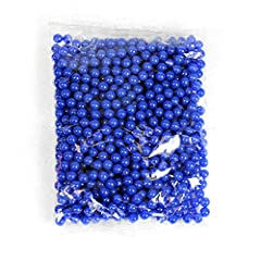 High grade assorted colored BB's that come in a pack of 1000. Hard plastic construction. Perfect for spring guns.