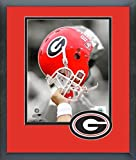 Photo File University Of Georgia Helmet 8 x 10 Standard Matted Picture Frame