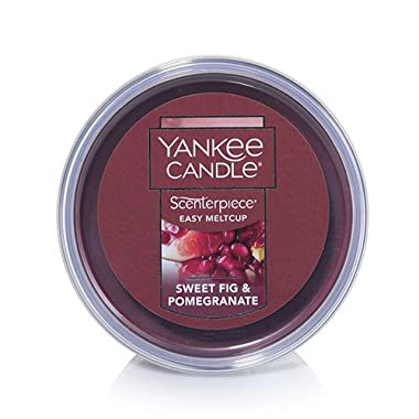 Yankee Candle Sweet Fig & Pomegranate Scenterpiece Easy MeltCup, Fruit Scent