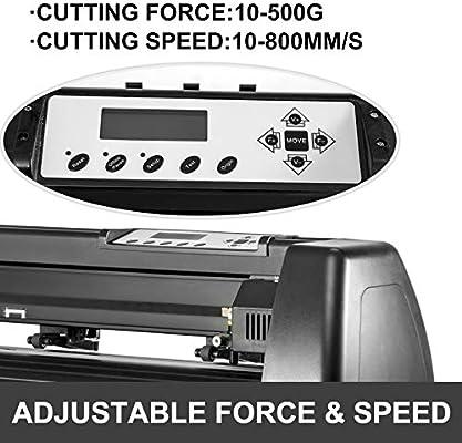 VEVOR - Plotter cortador de vinilo, para máquina de manualidades, máquina de hacer carteles, papel, cortador de vinilo, plotter: Amazon.es: Juguetes y juegos