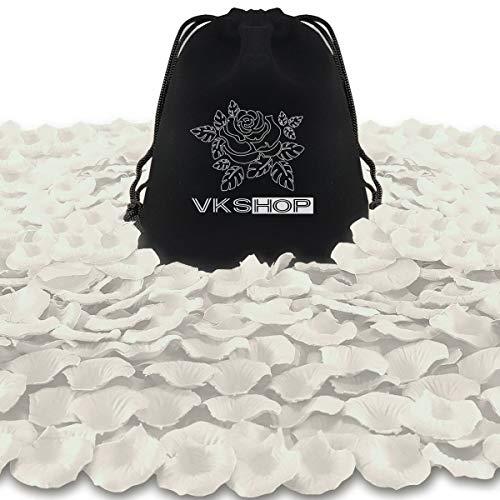 PETALOS DE ROSA ARTIFICIALES 4500u/ Champagne blanco