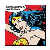 "Wonder Woman - DC Comics Poster / Art Print (Of All People...) (Size: 16"" x 16"")"