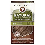 Clairol Natural Instincts Hair Color For Men M9 Light Brown 1 Kit (Pack of 3) - PACKAGING MAY VARY