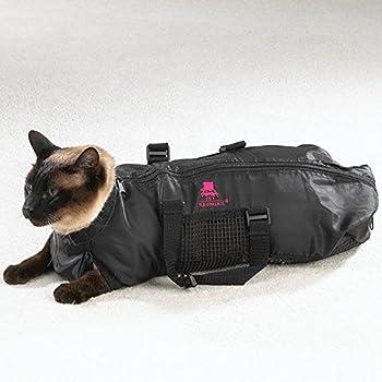 Heavy Duty Mesh Cat Grooming Bathing Restraint Bag 3 Sizes & Vet Sets Available(Large)
