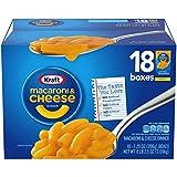 Kraft Macaroni & Cheese Dinner, Original, 7.25 oz, 18 Pack