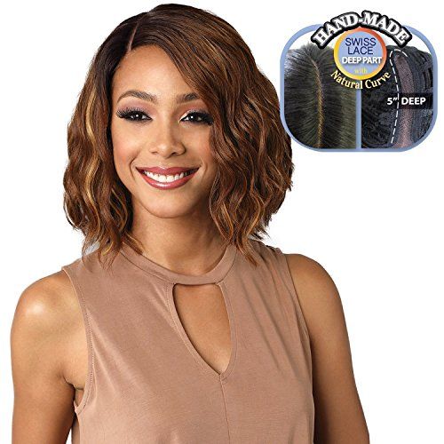Bobbi Boss Synthetic Hair Lace Front Wig MLF196 Swiss Lace Marilyn (TT4/270)