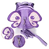 Hipiwe Baby Anti-Lost Backpack Butterfly Walking