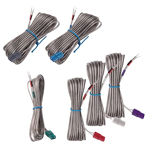Substitute Speaker Wires Equipment for Samsung HT-BD1252 HT-BD1255 HT-C330 HT-C350 HT-C450 HT-C445N HT-C450N HT-C453 HT-C453N HT-C455 HT-C460 HT-C550 HT-C463 HT-D5330 HT-E5550 HT-E5530 Residence Theater System