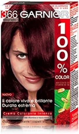 Tinte para cabello 100% color 366 negro rojo: Amazon.es: Belleza